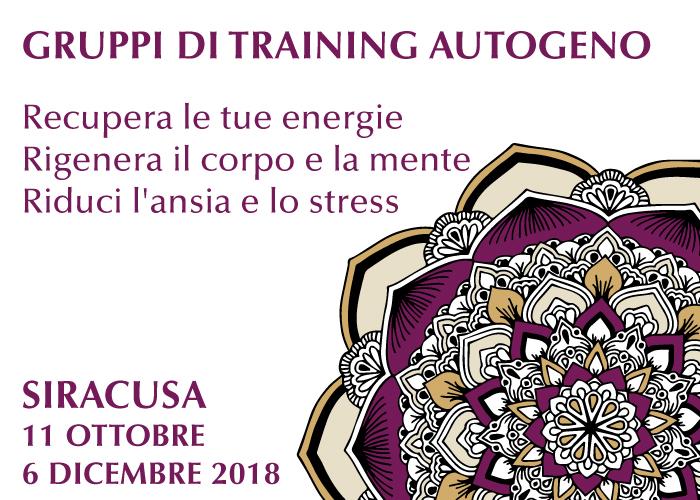 Gruppi di Training Autogeno Recupera le tue energie, rigenera il corpo e la mente, riduci l'ansia e lo stress Home