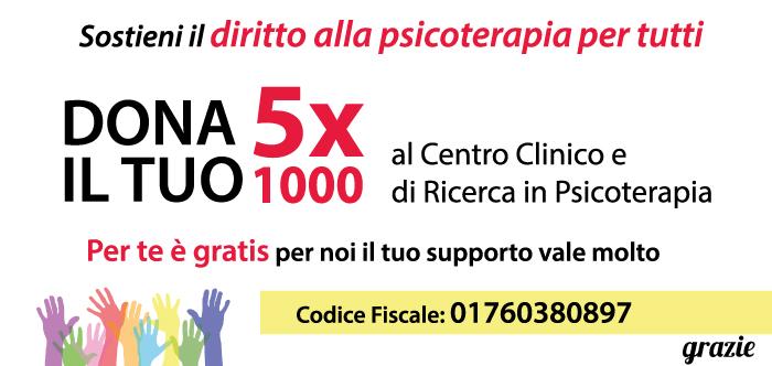 5 per mille alla psicoterapia gestalt 5x1000
