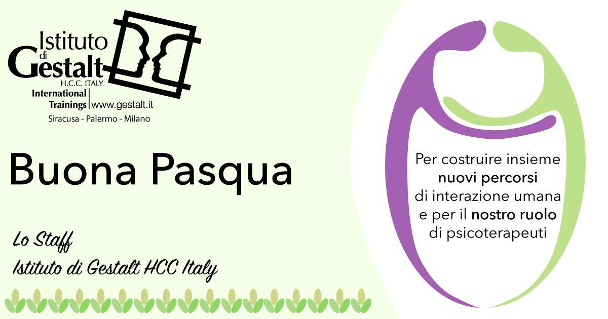 Buona Pasqua dall'Istituto di Gestalt HCC Italy
