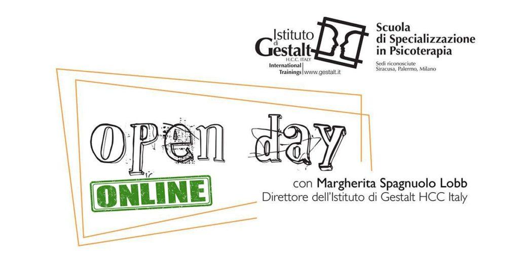 Open day online eventi gratuiti per conoscere Scuola di Psicoterapia della Gestalt