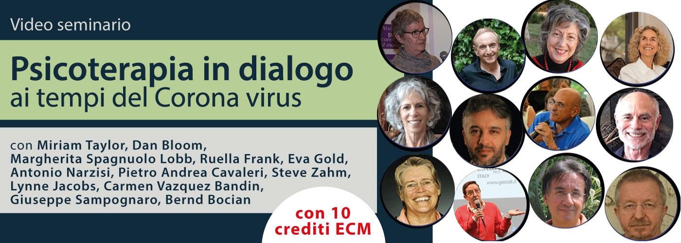 La psicoterapia in dialogo al tempo del coronavirus corso online con crediti ECM