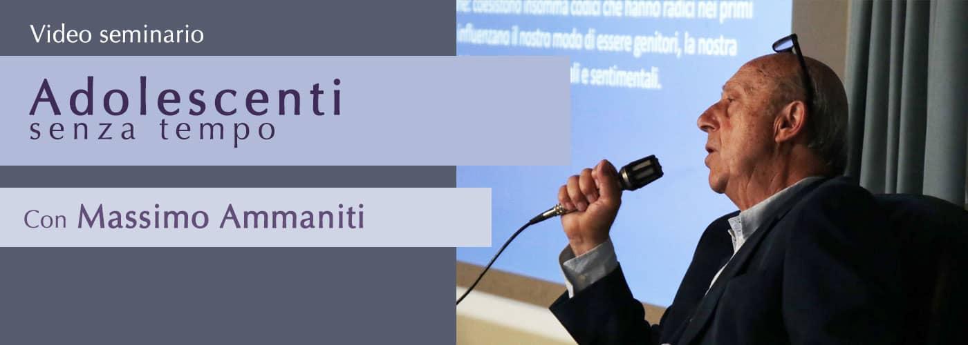 Gli adolescenti senza tempo con Massimo Ammaniti