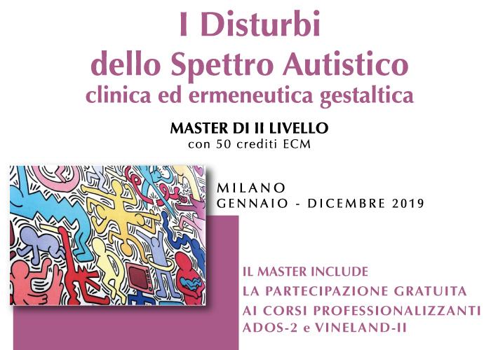 Master i disturbi dello spettro autistico clinicia ed ermeneutica gestaltica Milano Home