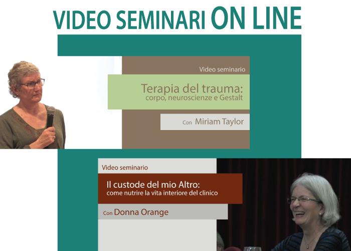Video Seminari Gestalt FAD corsi online Home