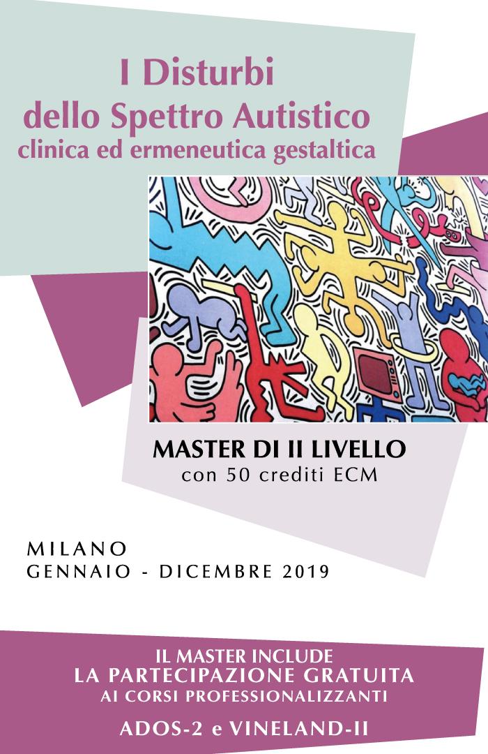 Master Autismo - I Disturbi dello Spettro Autistico clinica ed ermeneutica gestaltica con 50 crediti ECM Milano