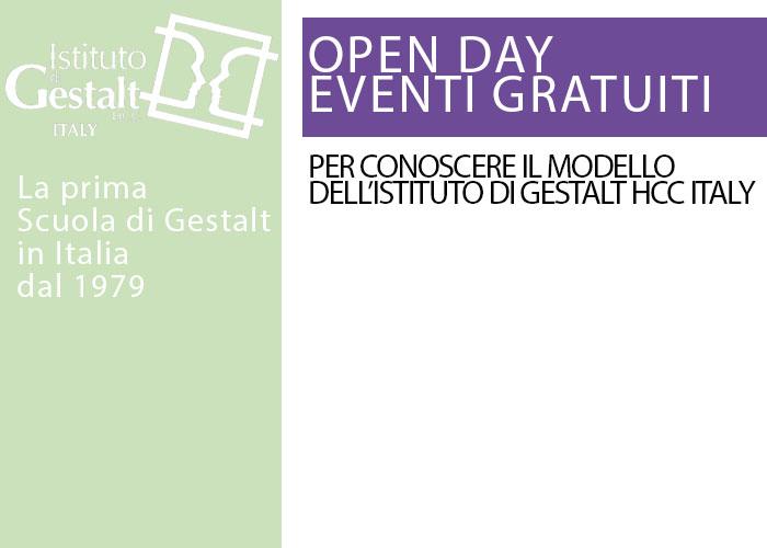 Eventi gratuiti Psicoterapia Gestalt Scuola