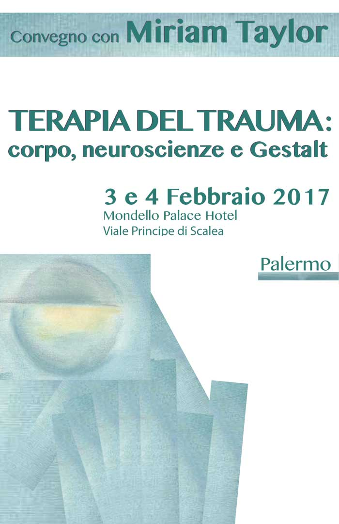 Miriam Taylor Terapia del Trauma convegno Palermo