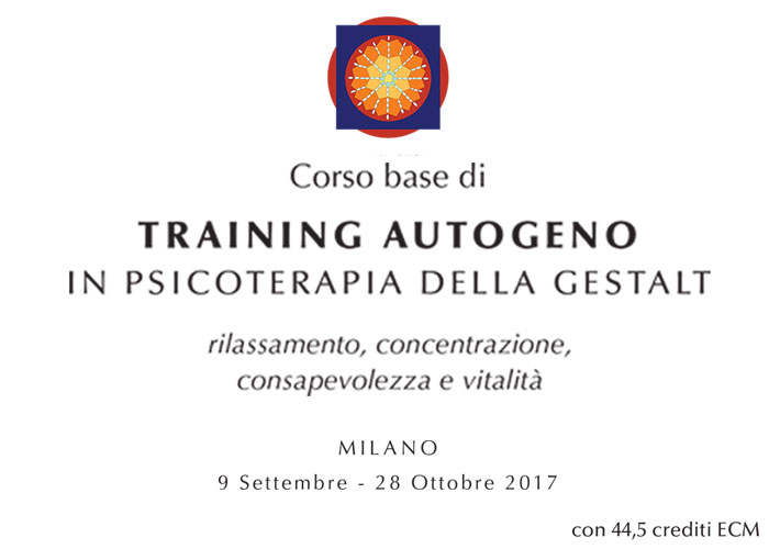 Corso Training Autogeno in Psicoterapia della Gestalt Home
