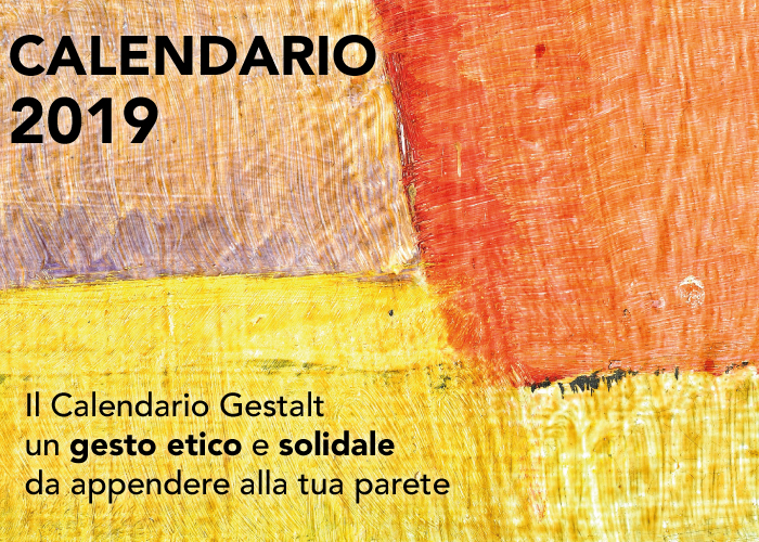 Calendario Gestalt da parete 2019 Home