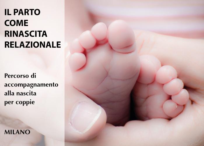 Parto percorso accompagnamento alla nascita per coppie Milano Home