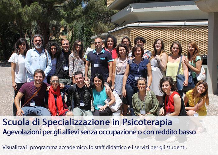 Scuola Specializzazione Psicoterapia - Diventa Psicoterapeuta della Gestalt, agevolazioni, scopri i programmi didattici Home Studenti Open Day