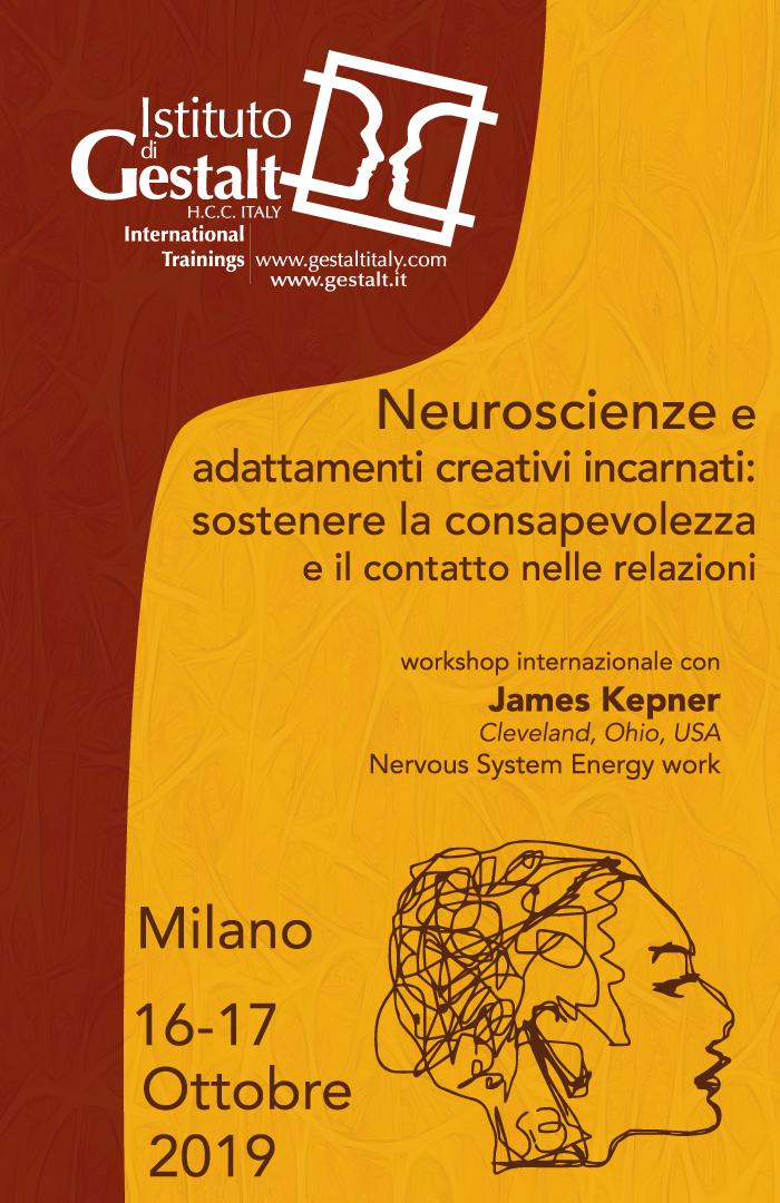 Gestalt Neuroscienze e adattamenti creativi incarnati: sostenere la consapevolezza e il contatto nelle relazioni Workshop internazionale con James Kepner - Cleveland, USA - Home