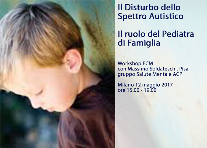 Workshop pediatra famiglia autismo soldateschi home