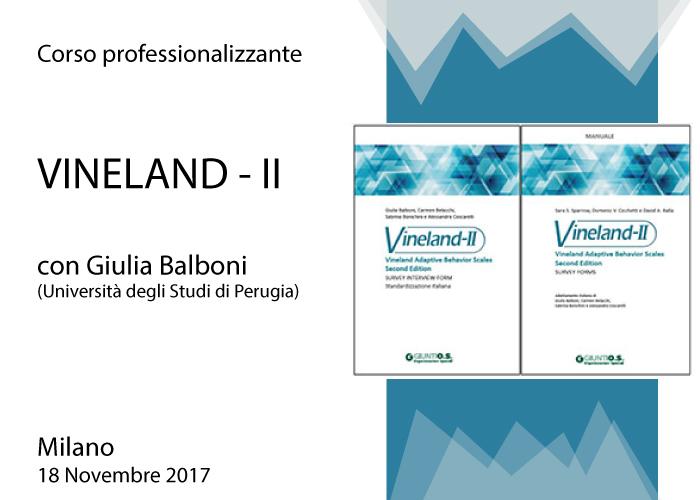 Corso professionalizzante VINELAND - II home