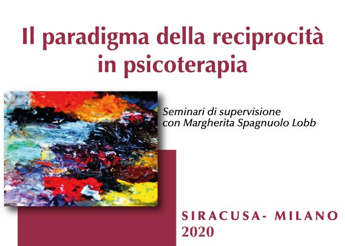 Seminari di perfezionamento e supervisione per psicoterapeuti con Margherita Spagnuolo Lobb