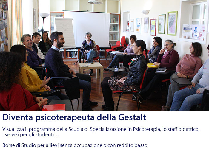 Scuola Specializzazione Psicoterapia sono aperte le iscrizioni al primo anno- Diventa Psicoterapeuta della Gestalt, agevolazioni, scopri i programmi didattici Home